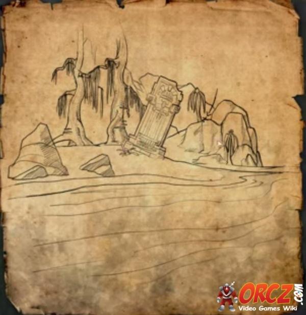 eso shadowfen treasure map ii orcz the video games wiki