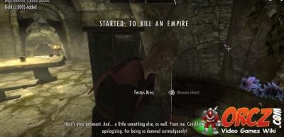 how to kill the skinner skyrim