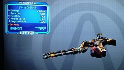 Borderlands 2: Greesy Chopper - Orcz com, The Video Games Wiki