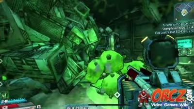 Borderlands Pre-Sequel: Stomp brain bugs - Trouble with