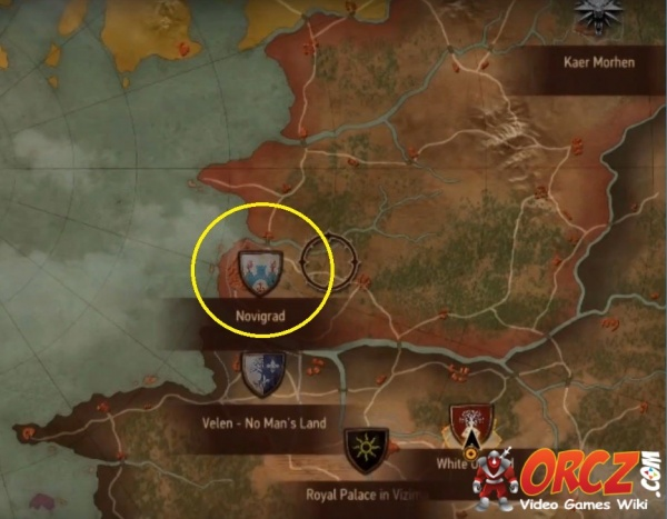 Witcher 3 Novigrad Map The Video Games Wiki