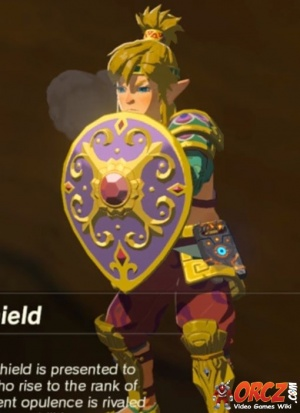Breath Of The Wild Radiant Shield Orcz Com The Video