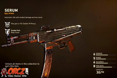 Call Of Duty Ww2 Serum Orcz Com The Video Games Wiki