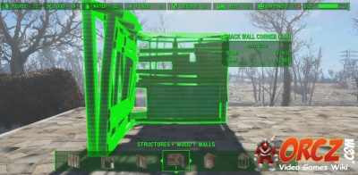 Fallout 4: Wooden Shack Wall Corner - Orcz com, The Video Games Wiki