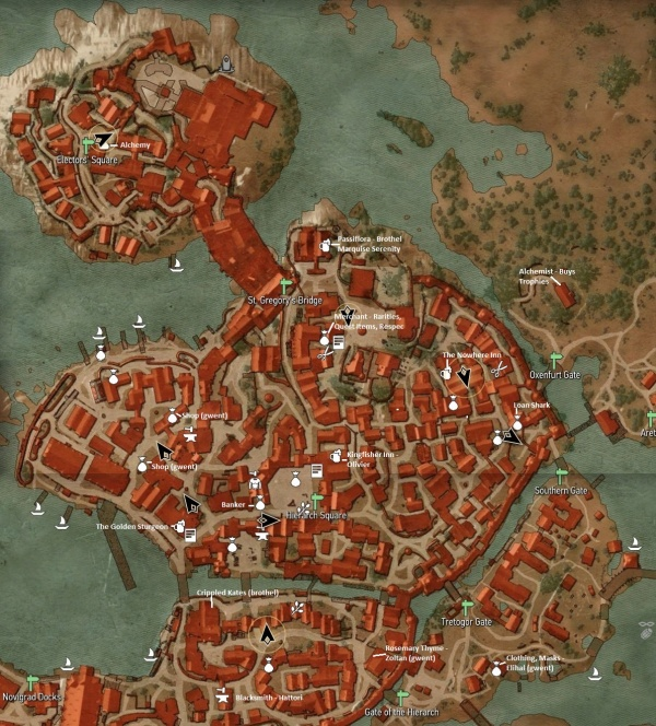 Witcher 3 novigrad map orcz the video games wiki witcher3novigradmap2g gumiabroncs Images