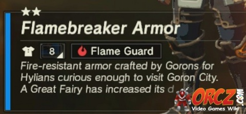 how to get flamebreaker armor breath of the wild