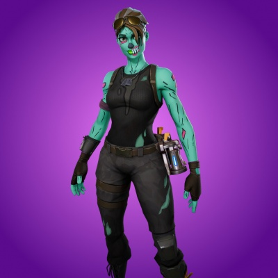 Fortnite Battle Royale Ghoul Trooper Orczcom The Video Games Wiki