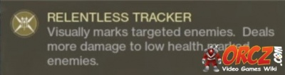 Destiny 2: Relentless Tracker - Orcz com, The Video Games Wiki