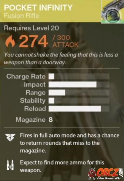 Image Result For Pocket Infinity Destiny Bounty