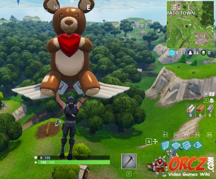 Fortnite Battle Royale Search Between A Stone Circle
