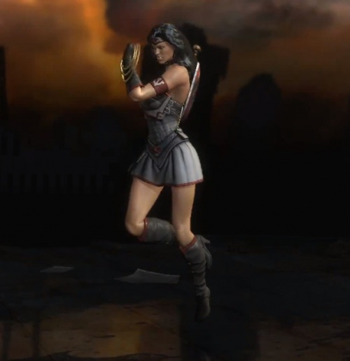 Injustice  Gods Among Us  Wonder Woman Red Son Alternate CostumeRed Son Wonder Woman Injustice