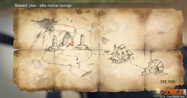 Assassin s Creed IV Tortuga Treasure Map Orcz The Video