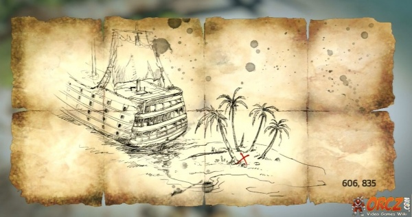Assassin s Creed IV Andreas Island Treasure Map Orcz The