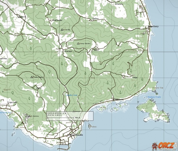 category dayz standalone maps orcz the video games wiki