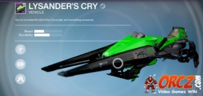 Lysander's Cry