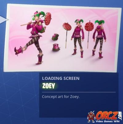 Fortnite Battle Royale Loading Screen Zoey Orcz Com The Video