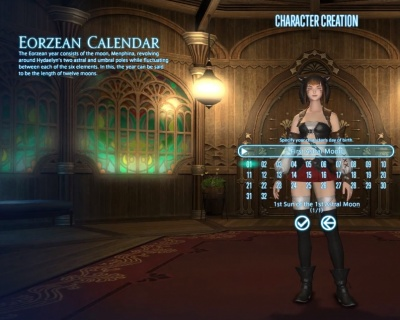 FFXIV ARR: Eorzean Calendar - Orcz com, The Video Games Wiki