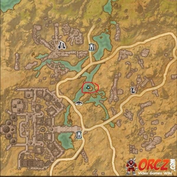 ESO: Bangkorai Treasure Map V - Orcz.com, The Video Games Wiki