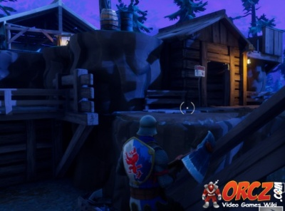 Fortnite Battle Royale Follow The Treasure Map Found In Shifty