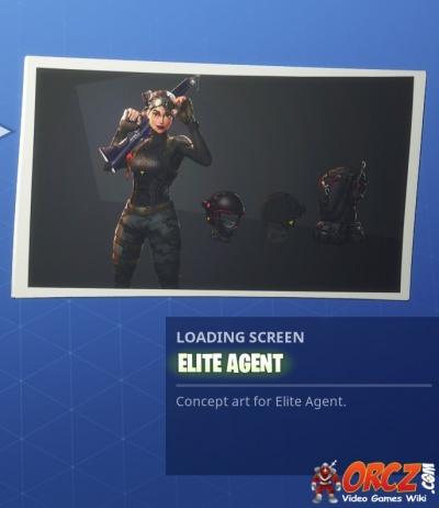 Fortnite Battle Royale Loading Screen Elite Agent Orcz Com The