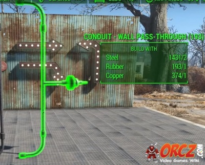 Fallout 4: Conduit Wall Pass Through - Orcz com, The Video Games Wiki