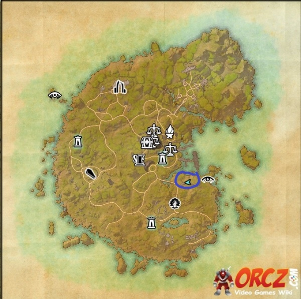 elder scrolls online treasure maps with Eso  Betnikh Skyshards   Sto Ooth Fortress Skyshard on ESO  Malabal Tor Treasure Map I in addition Watch moreover ESO  Stormhaven Treasure Map V besides Watch besides Learn Cartography In How To Draw Fantasy Art And Rpg Maps.