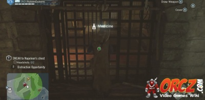 Assassin's Creed Unity: Sneak to Napoleon's chest - Under Lock and
