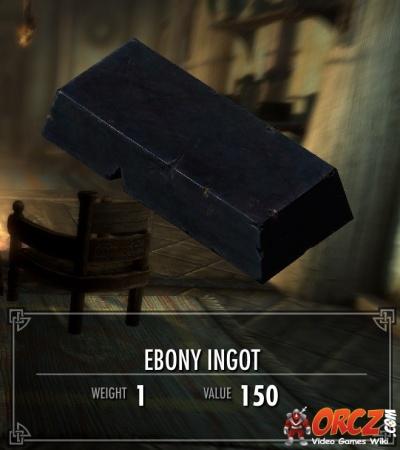 Ebony ingots