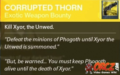 destiny xyor the unwed matchmaking For destiny on the playstation 4, a gamefaqs message board topic titled lfg xyor the unwed (corrupted thorn pistol bounty).