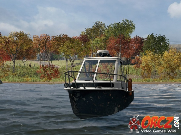 Watch dogs fishing boat the video games wiki for Boat fishing games