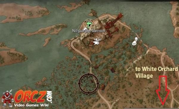 Witcher 3 Nilfgaardian Garrison Map Orczcom The Video Games Wiki