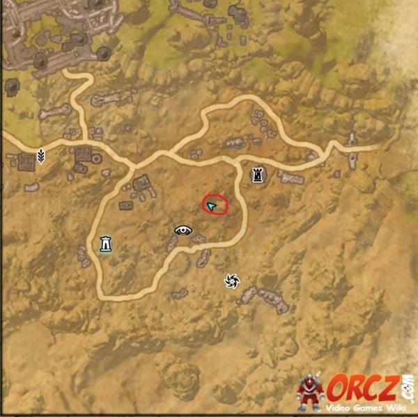 ESO: Bangkorai Treasure Map VI - Orcz.com, The Video Games ...