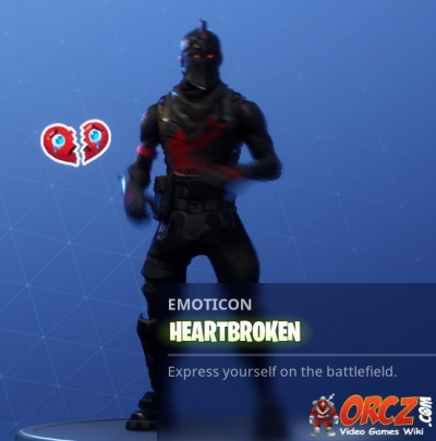 Fortnite broken heart