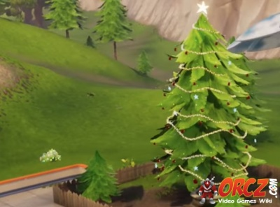 Fortnite Battle Royale Christmas Tree Orcz Com The Video Games Wiki