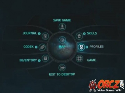 Mass Effect Andromeda In Game Menu Orcz Com The Video