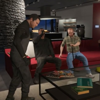 gta v the bureau raid roof entry the video games wiki. Black Bedroom Furniture Sets. Home Design Ideas