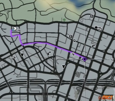 gta v directions from michael 39 s house to the suburban store in vinewood the video. Black Bedroom Furniture Sets. Home Design Ideas