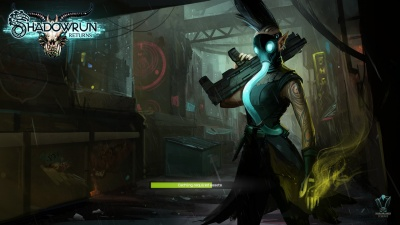 Shadowrun Returns Loading Screen Orcz Com The Video