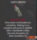 Dirty Water