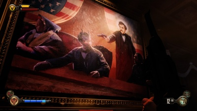 Bioshock Infinite Lincoln Assassination Portrait Orcz