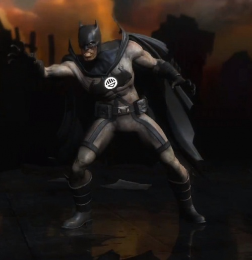 Injustice Gods Among us Blackest Night Batman us Batman Blackest Night