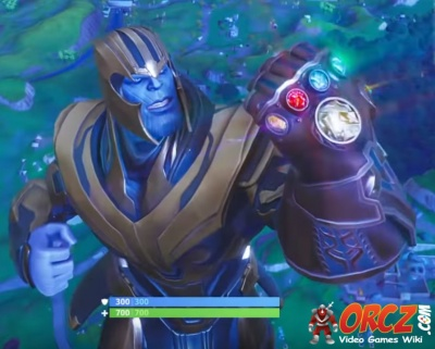 Thanos abilities fortnite