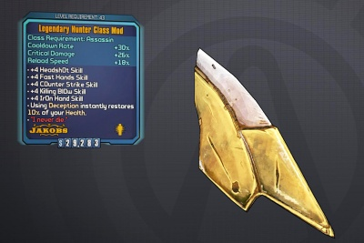 Borderlands 2: Legendary Hunter Class Mod - Orcz com, The