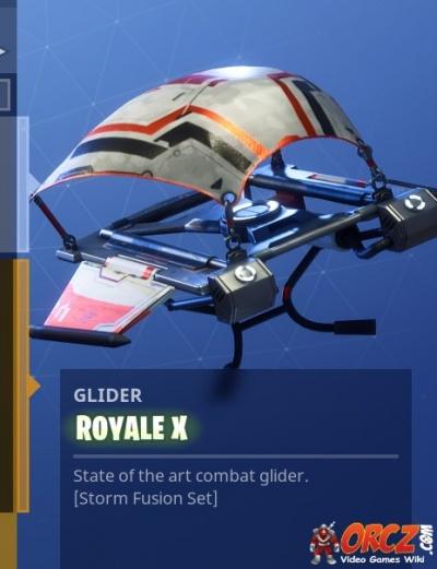 Fortnite battle royale gliders