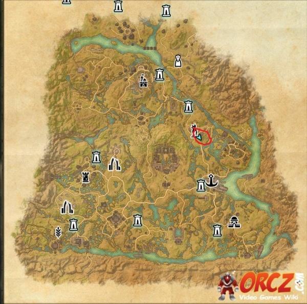 ESO: Shadowfen CE Treasure Map   Orcz.com, The Video Games Wiki