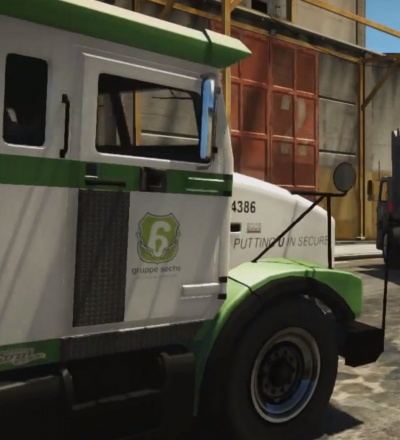 GTA V: Gruppe 6 Security Truck - Orcz com, The Video Games Wiki