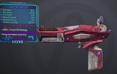 Borderlands 2: Amplified Lady Fist - Orcz com, The Video