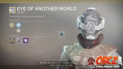 Eye of Another World in Destiny 2.