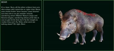 Far Cry 3 Blood Dragon: Boar - Orcz.com, The Video Games Wiki