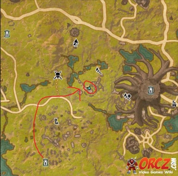ESO: Grahtwood Treasure Map VI - Orcz.com, The Video Games Wiki